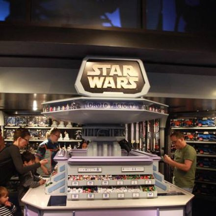 Disneyland Droid Factory Arrives