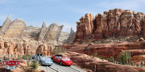 Opening Cars Land