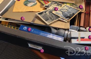 "Contents of Brad Bird's Mysterious ""Tomorrowland"" Photo!"