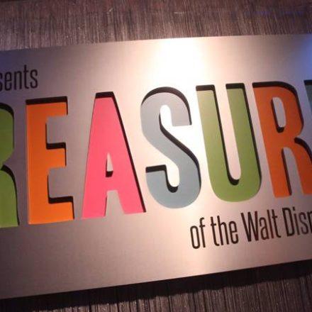 Treasures of the Walt Disney Archives Opens