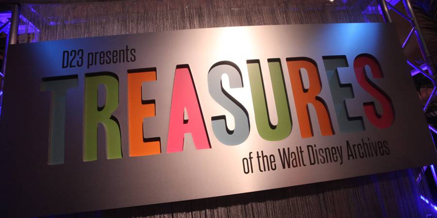 Treasures of the Walt Disney Archives Opens