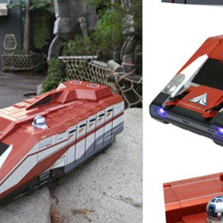 Disney Previews Star Tours Starspeeder 1000 vehicle playset