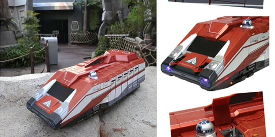Disney Previews Star Tours Starspeeder 1000 vehicle playset