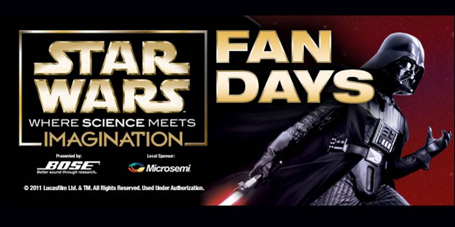 Star Wars &#039;Fan Day&#039; at Discovery Science Center - March 3, 2012
