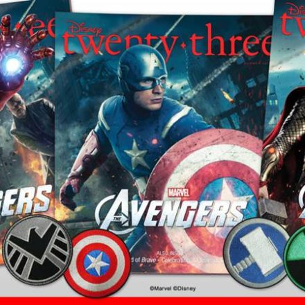 Avengers Assemble in Disney twenty-three Magazine's Summer Issue