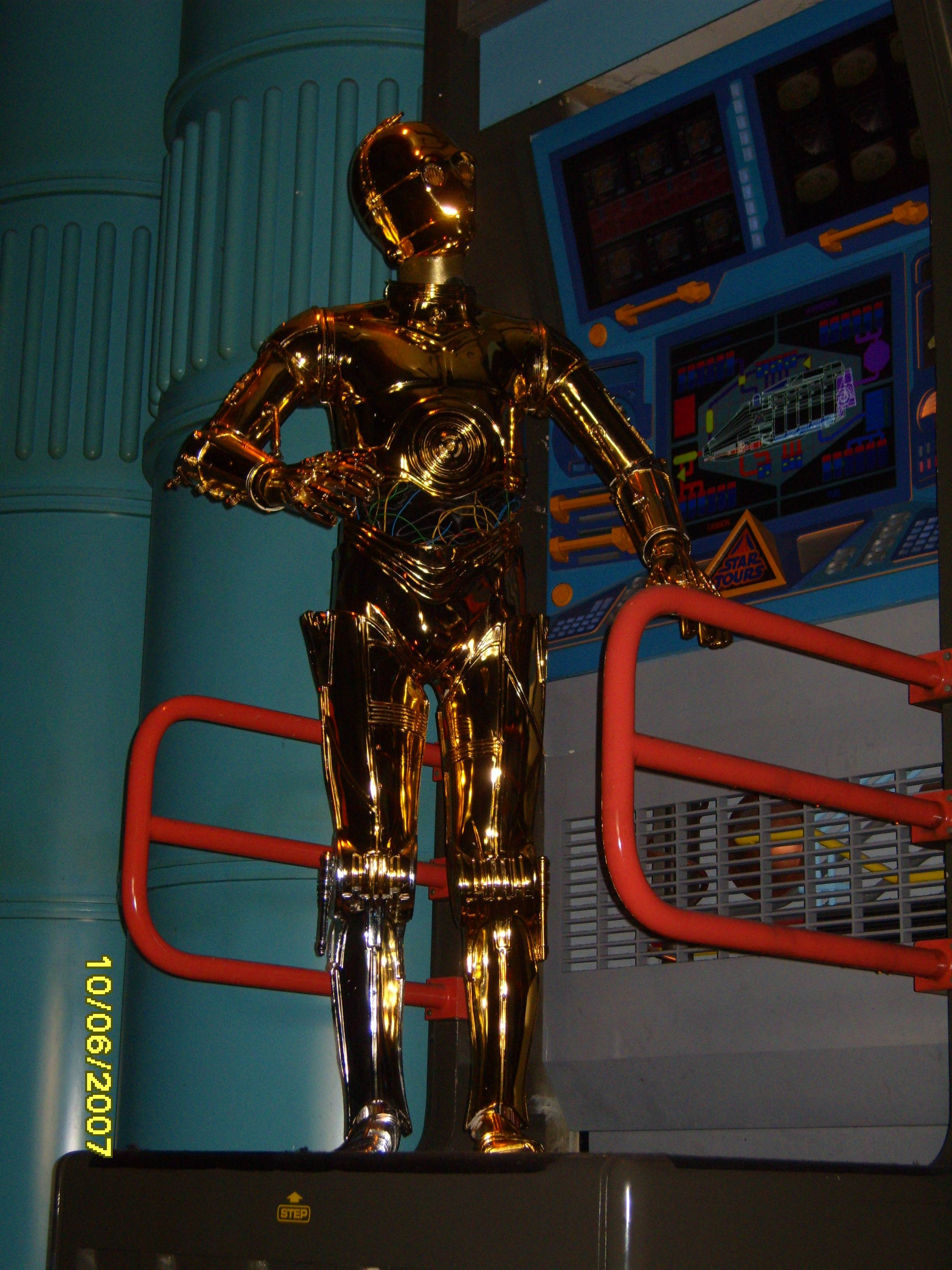 Star Tours: The Adventures Continue C-3P0 Rumor