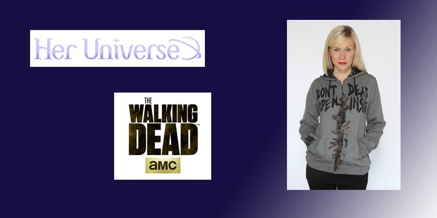 """Her Universe Releases AMC's """"The Walking Dead"""" Apparel"""