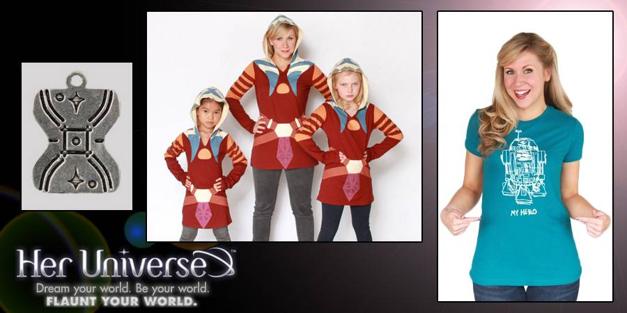 New Her Universe Line debuts at Disney&#039;s Star Wars Weekends 2012