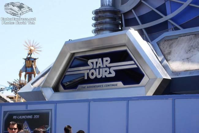 STAR TOURS CONSTRUCTION – UPDATE