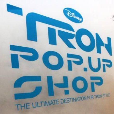 TRON Pop-Up Shop
