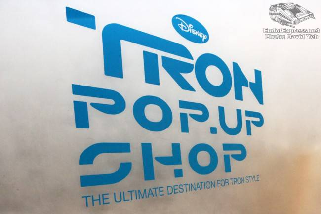 TRON Pop-Up Shop