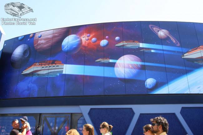 May 1st disneyland construction update endorexpress for Disneyland mural