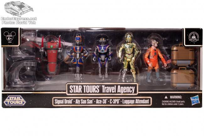 Hasbro Star Tours Travel Agency