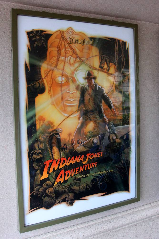 Indiana Jones Adventure Poster