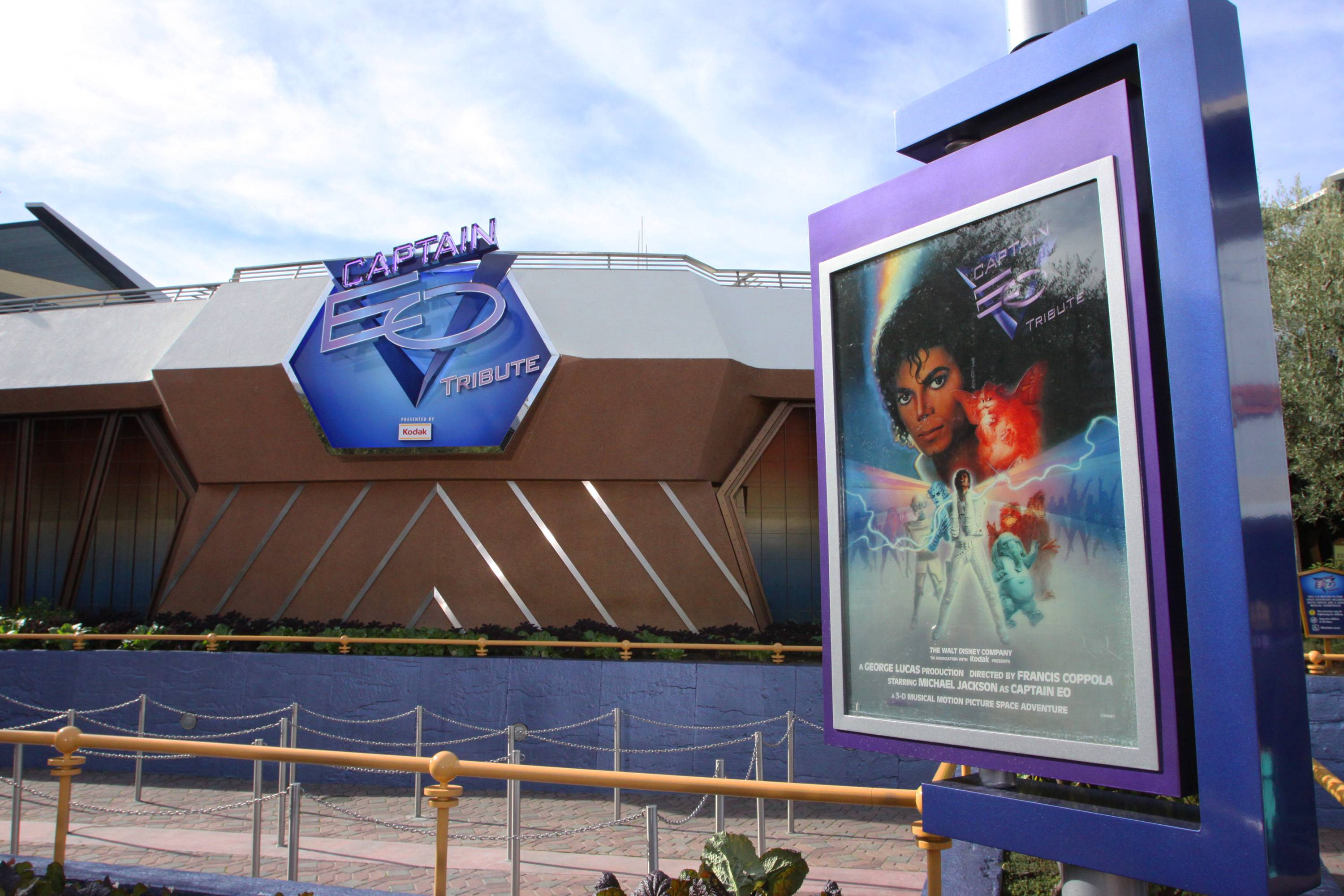 Captain EO Tribute Coverage