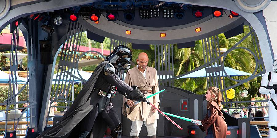 Jedi Training Academy at Tomorrowland Terrace