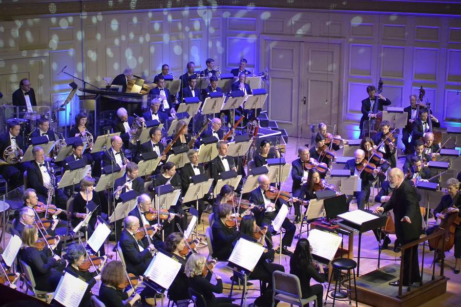 John Williams led the Boston Pops in Film Night on June 7, 2013 (Stu Rosner)