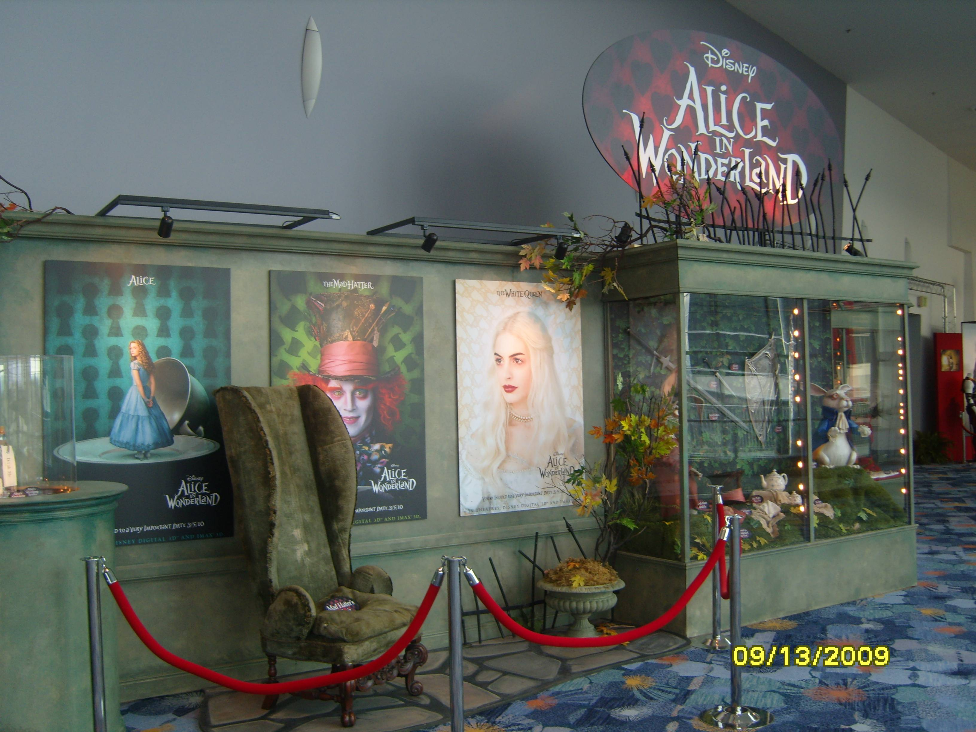 D23 Expo: Alice in Wonderland