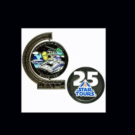 Star Tours 25th anniversary pin