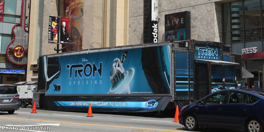 TRON: UPRISING Theater on Wheels