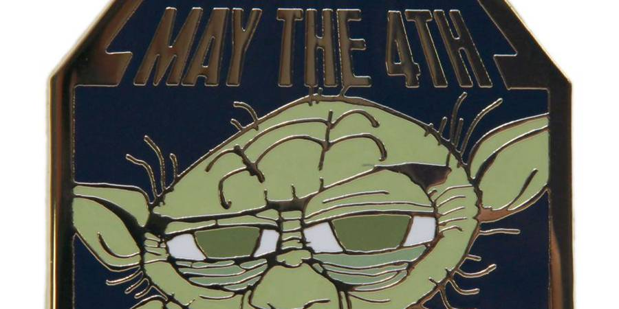 May The 4th Be With You Limited Edition Yoda Pin