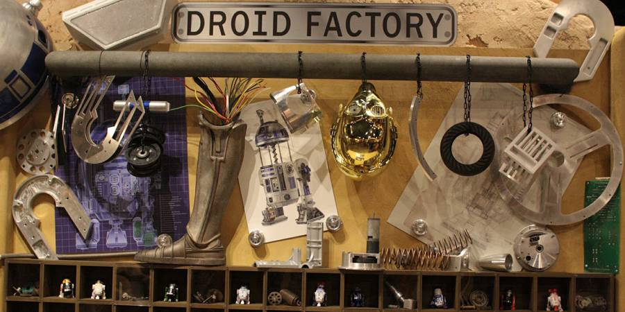 More Droid Factory Info and Reports