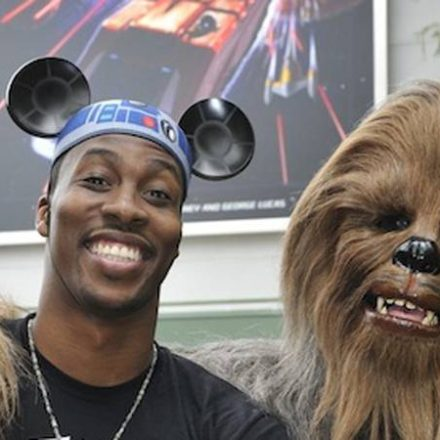 Dwight Howard visits Disney's Hollywood Studios