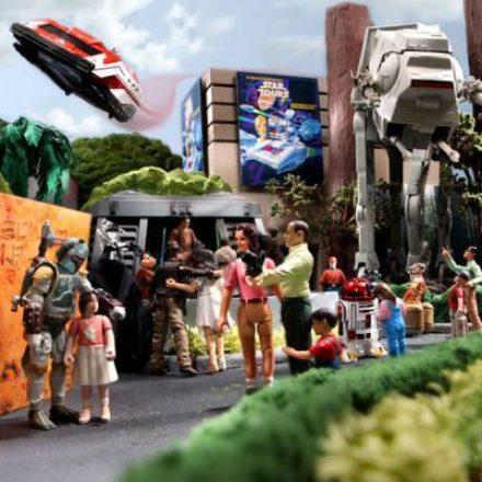 Star Wars Weekends 2011 Star Tours Diorama
