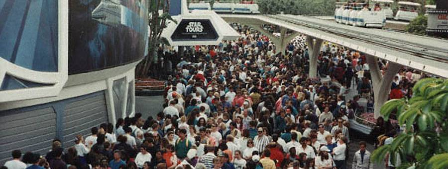 Star Tours Opening Day 1987