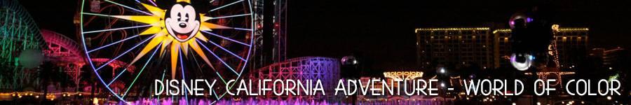 Disney California Adventure - World of Color