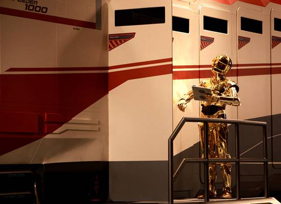 Who Will We Run Into in Star Tours 2?