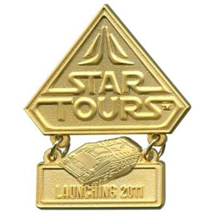 Star Tours Countdown Pin