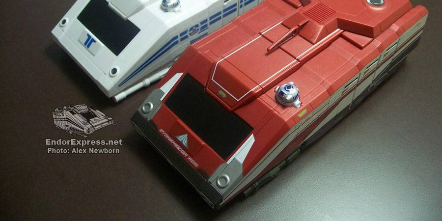 CV Exclusive Starspeeder 1000 toy review