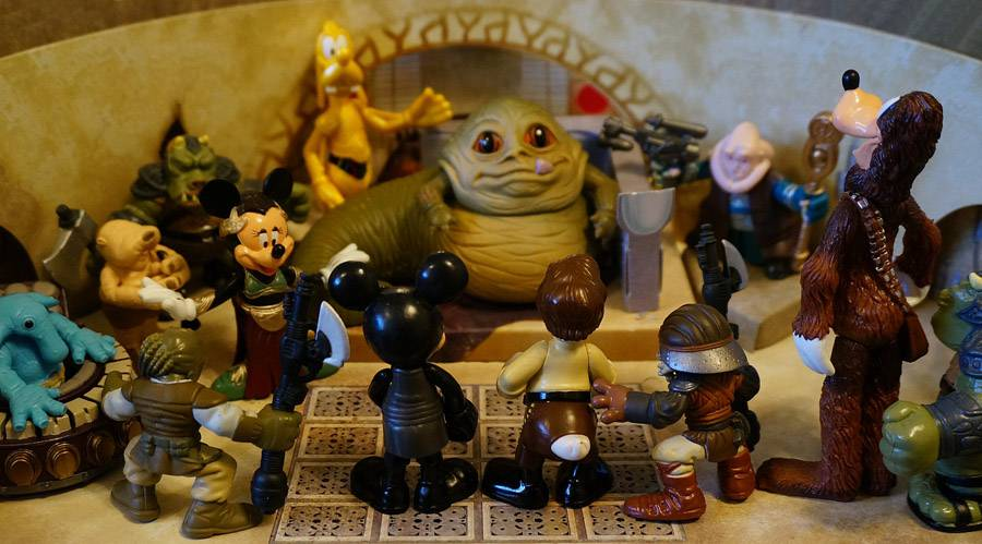 Disney vs. Galactic Heroes round 2
