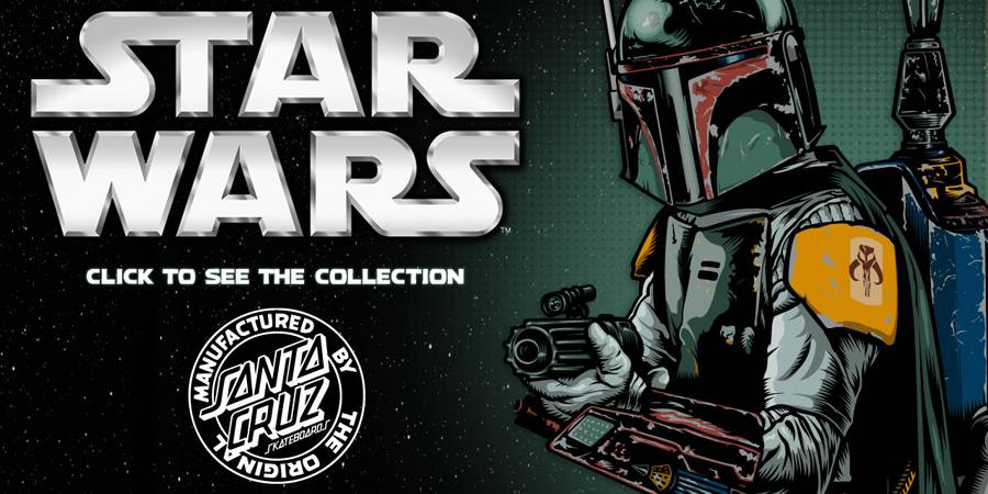 Star Wars Santa Cruz Skateboards