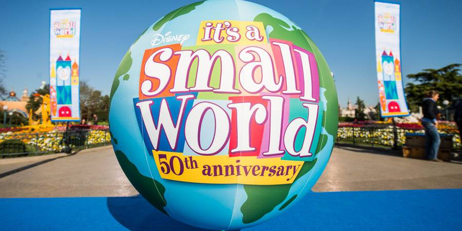 "50 years ""it's a small world"""