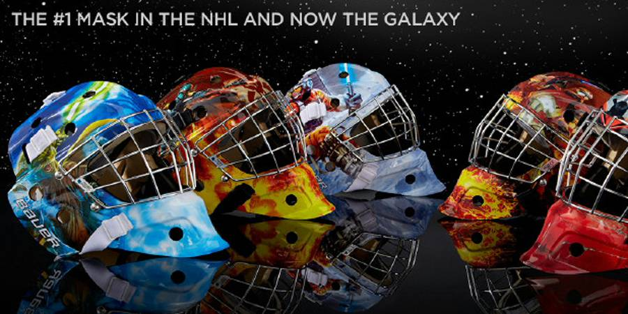 Bauer Hockey Launches STAR WARS Themed Goal Masks