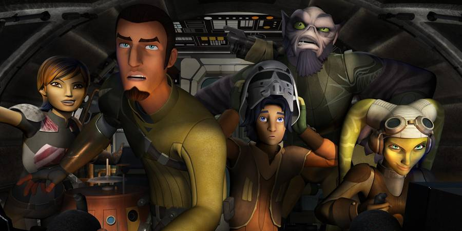 STAR WARS REBELS Season Two Announced