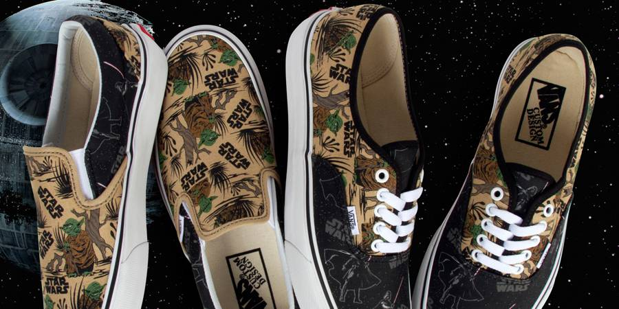 Vans Customs Releases Two Exclusive Star Wars Prints
