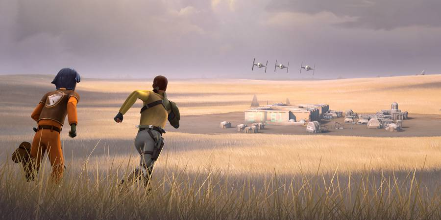 "STAR WARS REBELS ""Empire Day"""