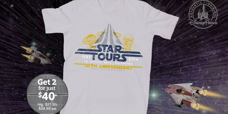 Star Tours Limited Release Tee Shirt
