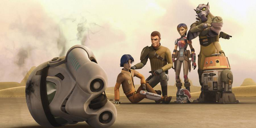 "Star Wars Rebels ""Vision of Hope"""