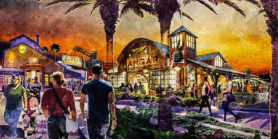 Jock Lindsey's Hangar Bar Coming to WDW