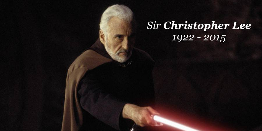 Sir Christopher Lee 1922-2015