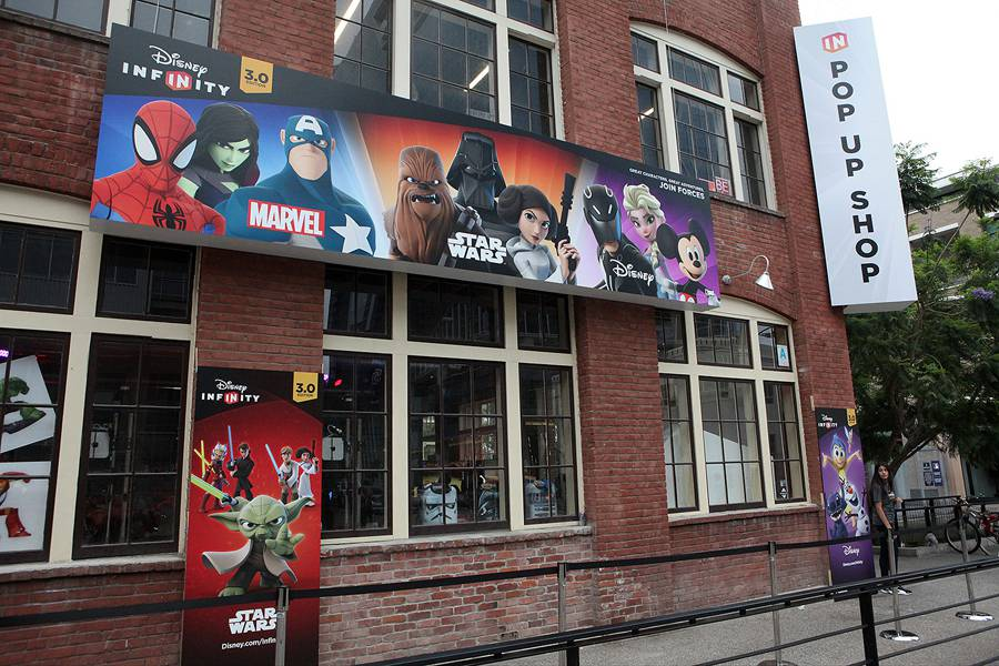 SDCC2015: Disney Infinity Pop Up Shop