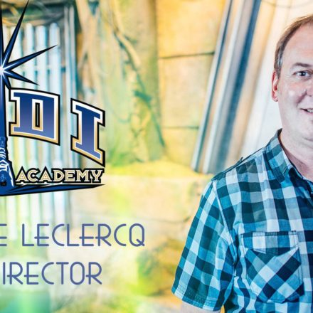 The master of the Jedi Training Academy: Christophe Leclercq