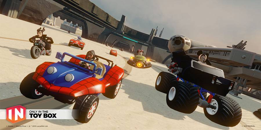 Disney Infinity 3.0 Toy Box Speedway Review