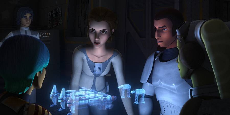 "Princess Leia to make her ""Star Wars Rebels"" Debut"