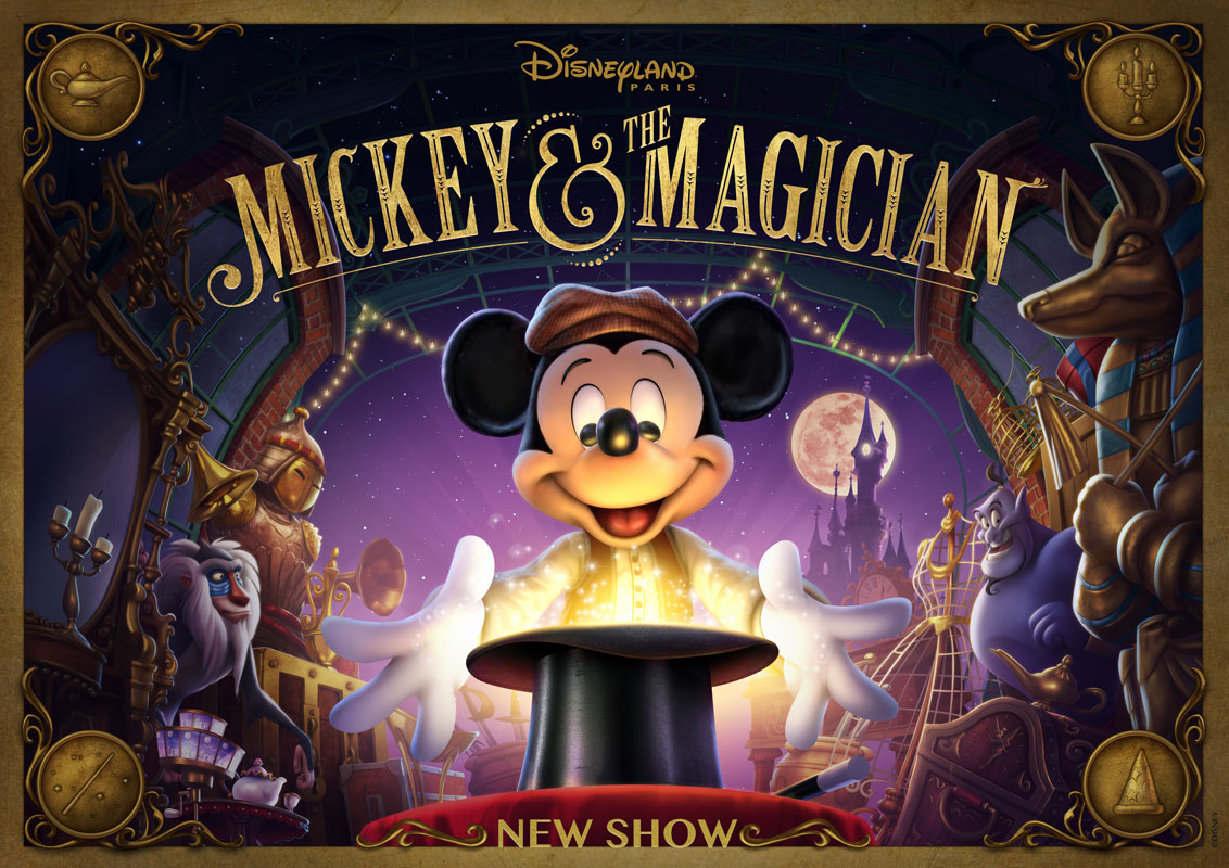Mickey and the Magician at Walt Disney Studios Park
