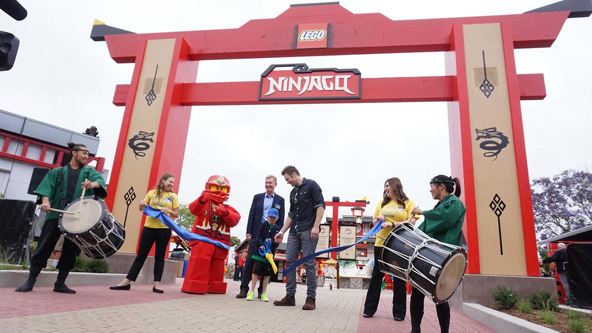 NINJAGO WORLD OPENS AT LEGOLAND CALIFORNIA